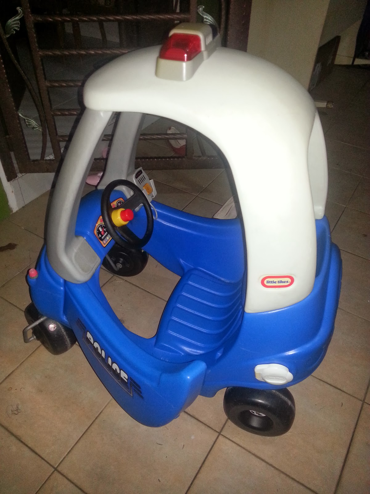 Little Tikes Police Coupe Car Sold Out