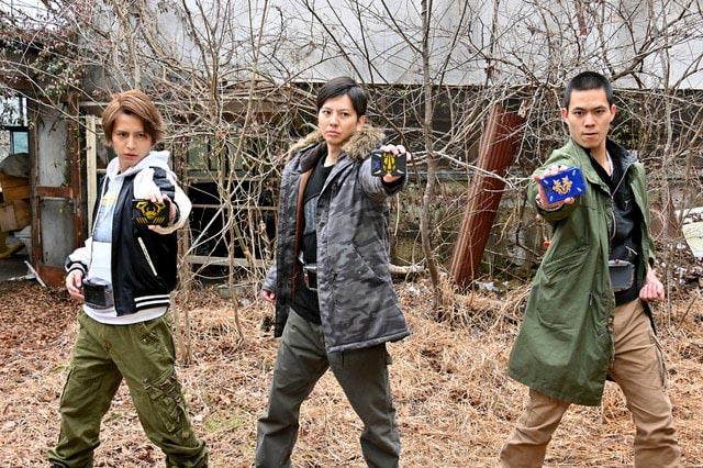 Rider Time Ryuki Cast