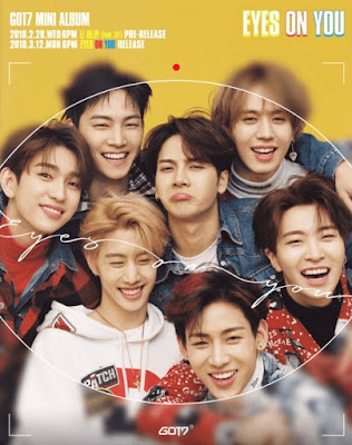 "GOT7 Score No. 1 Album Worldwide With ""Eyes On You"""