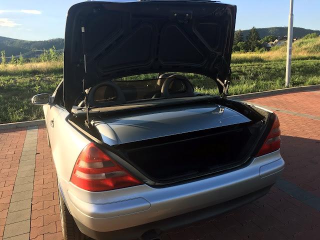 Mercedes Benz SKL 230 kompresor zavazadlovy prostor