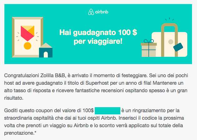 Airbnb coupons promo france