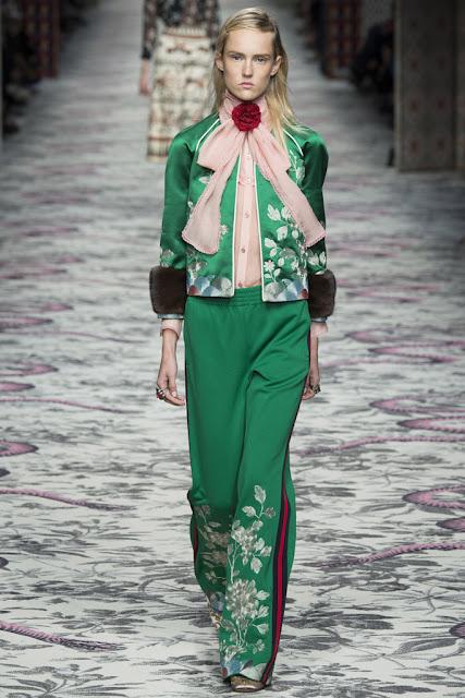 Pijama de calle Gucci SS 2016