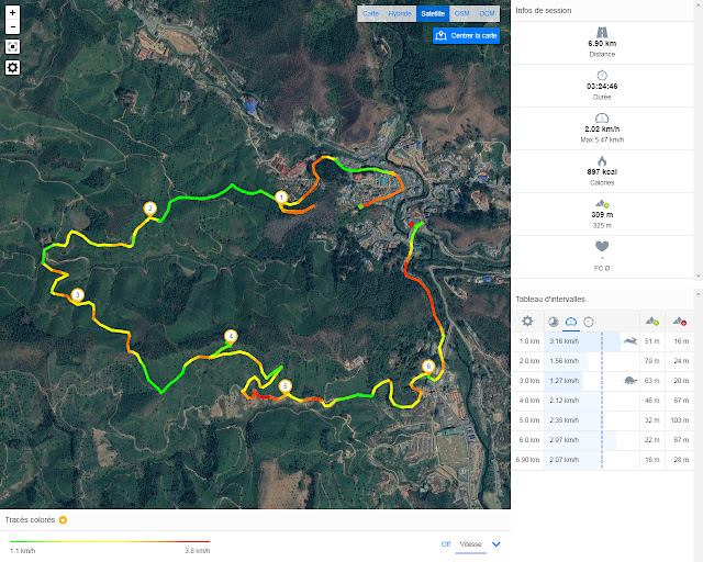 Parcours de randonnée à Munnar