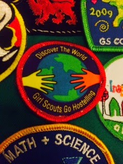 Earn Girl Scout Hostelling badge earned in Chicago Hostel