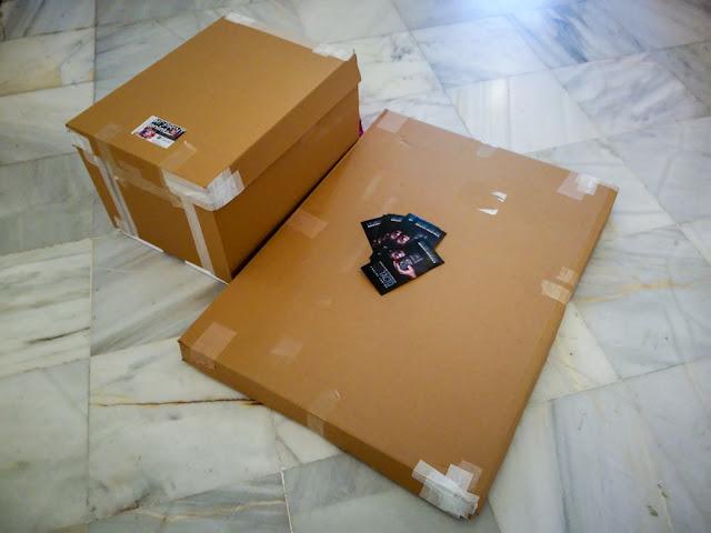Una vida cabe en dos cajas de cartón