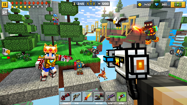 Download Game Pixel Gun 3D mod - Bắn súng kiểu pixel cho Android