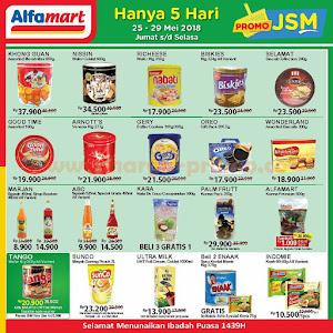 Promo JSM Alfamart 25 - 29 Mei 2018 Hanya 5 Hari