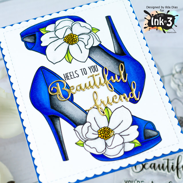 Heels To You Release Friendship Card for Ink On 3 by ilovedoingallthingscrafty.com