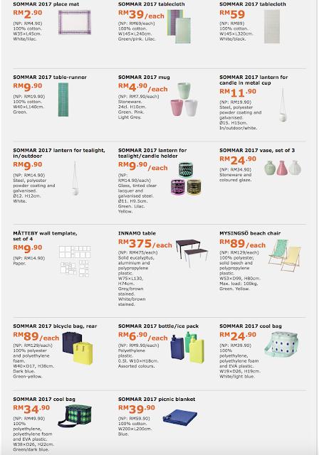 IKEA Malaysia Product Catalogue Sale Promo