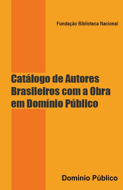 Catálogo de Autores Brasileiros com a Obra em Domínio Público