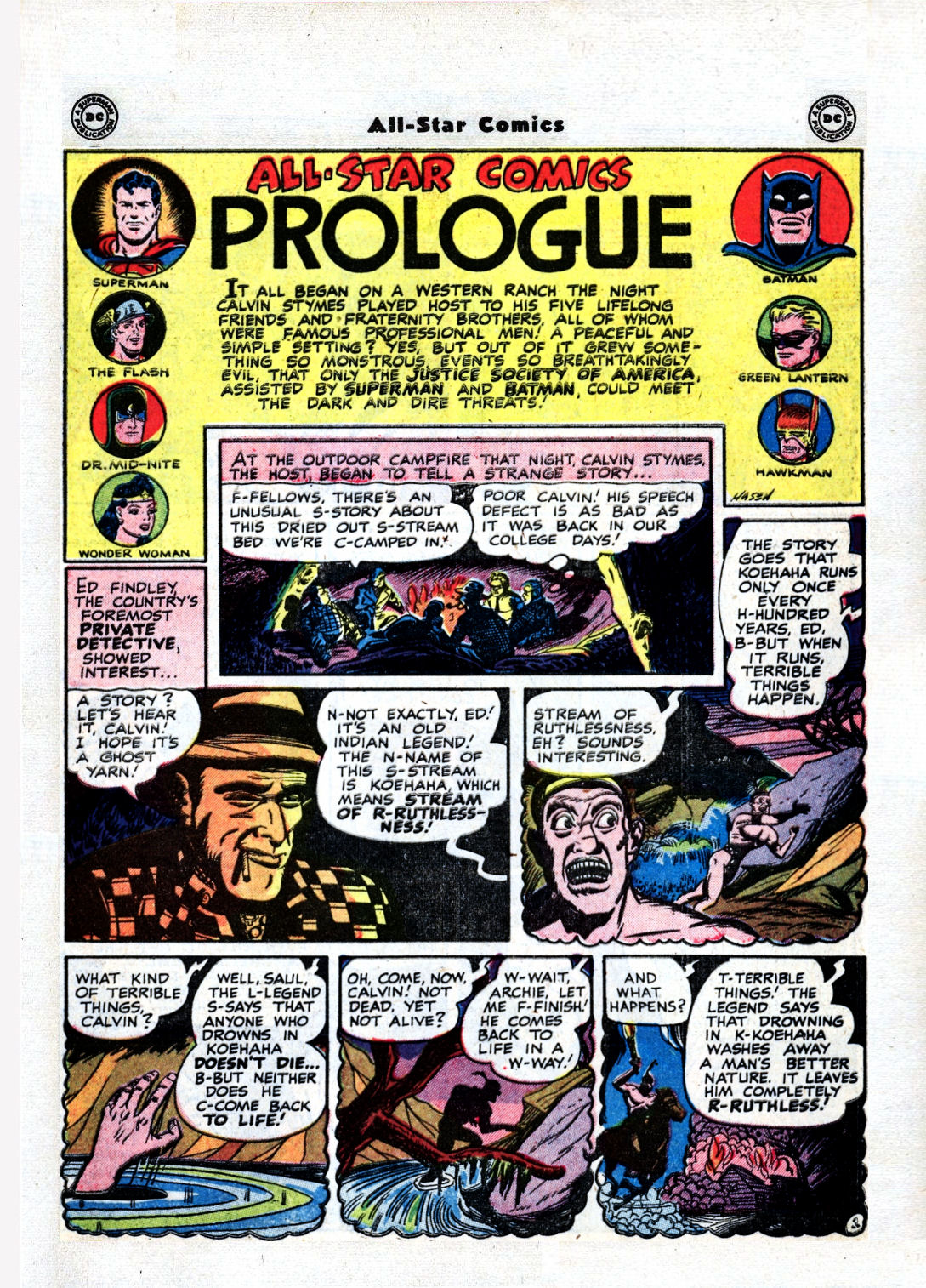 Read online All-Star Comics comic -  Issue #36 - 3