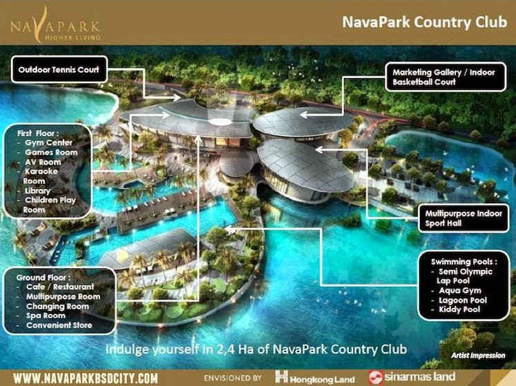 NavaPark BSD Country Club Facilities