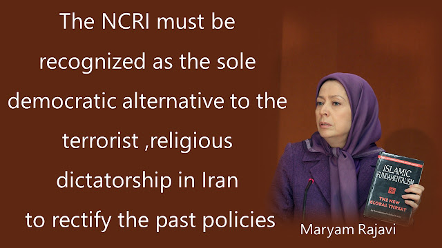 Maryam Rajavi welcomes the US policy against the clerical regime and its crimes against the Iranian people