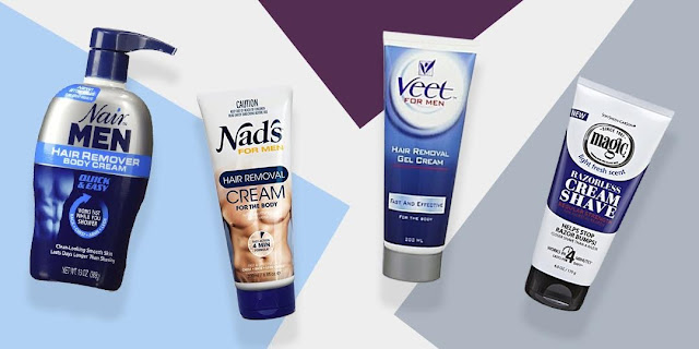 The hair removal cream for men