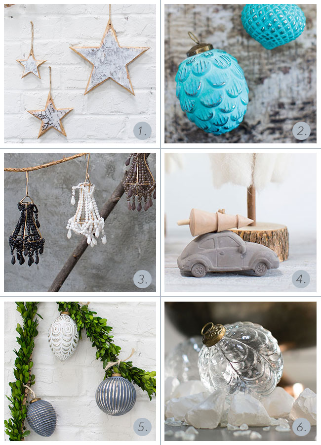 Wholesale holiday ornaments from Accent Decor