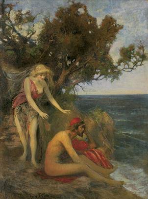 El Mito de Calipso y odiseo ulises