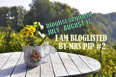 I AM BLOGLISTED BY MRS PIP #2