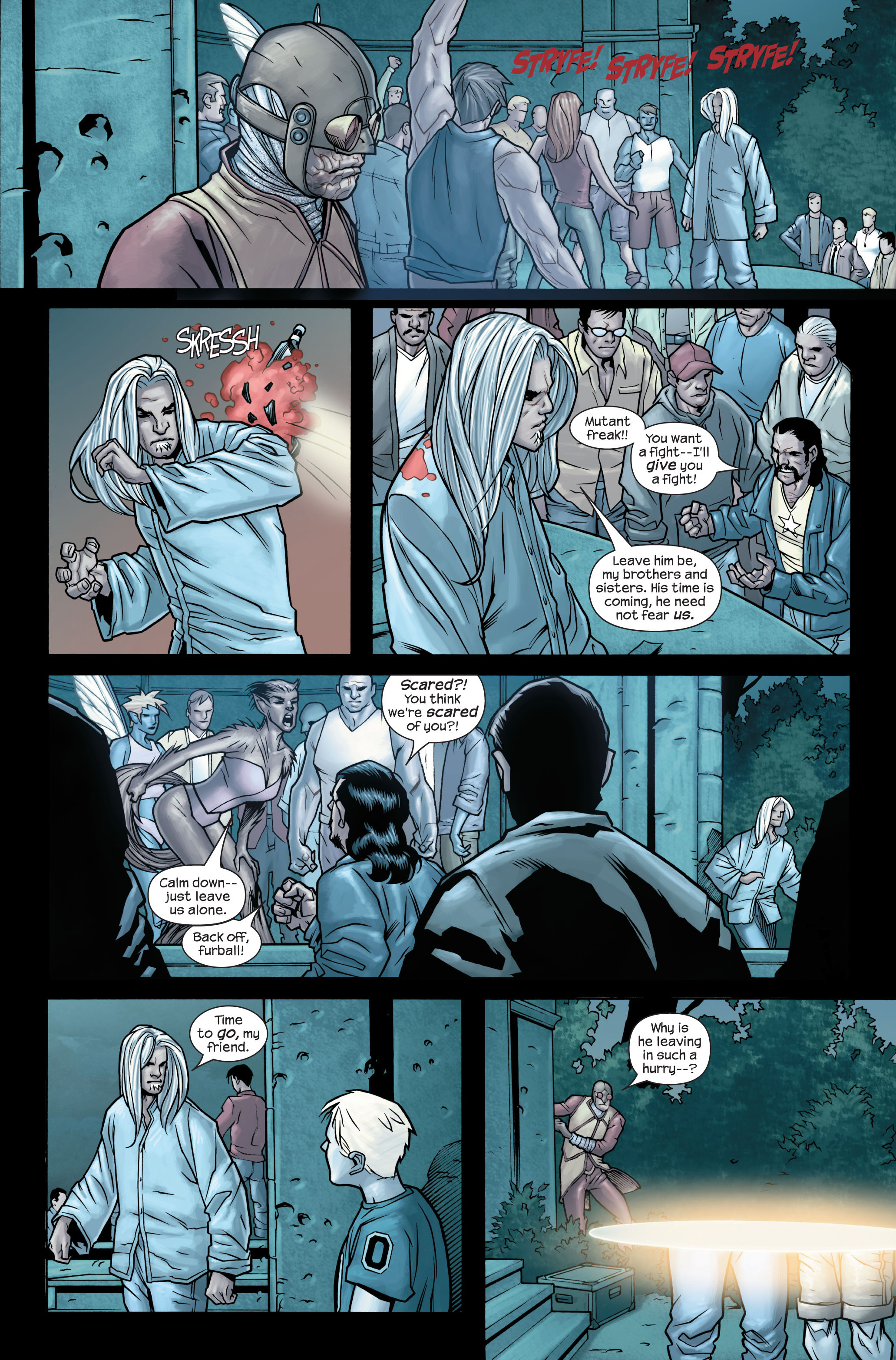 Read online Ultimate X-Men comic -  Issue #86 - 16