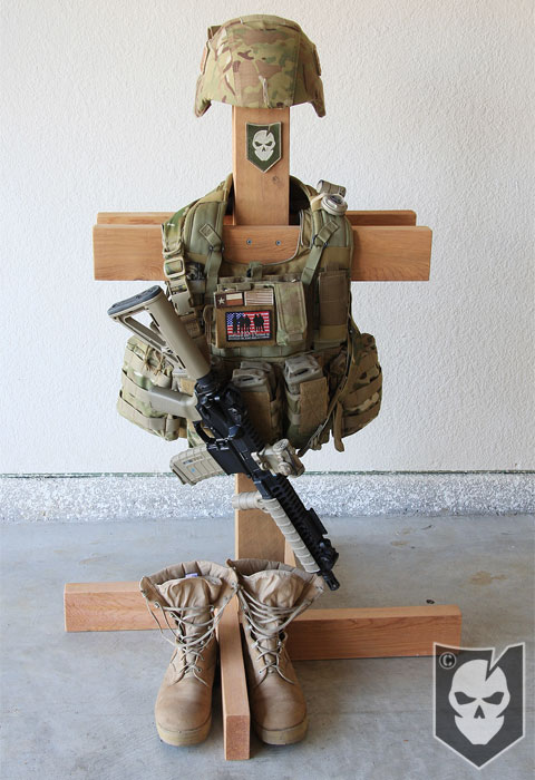 Snafu Project For The New Year Its Plate Carrier Stand