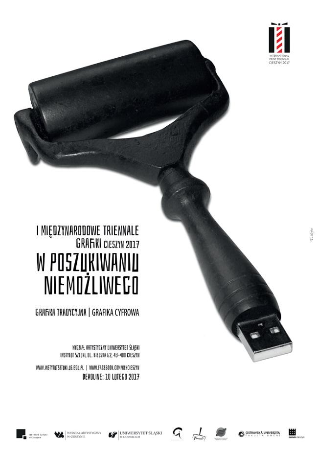 I Międzynarodowe Triennale Grafiki - plakat