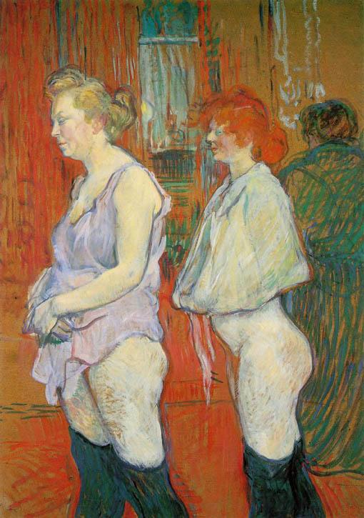 Peter James Field Portraits 16 Toulouse-Lautrec And La -1923