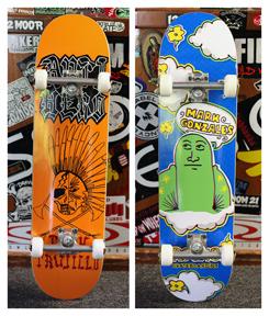 RED CURBS BLOG: 2 Complete skateboards @ Fishbanks