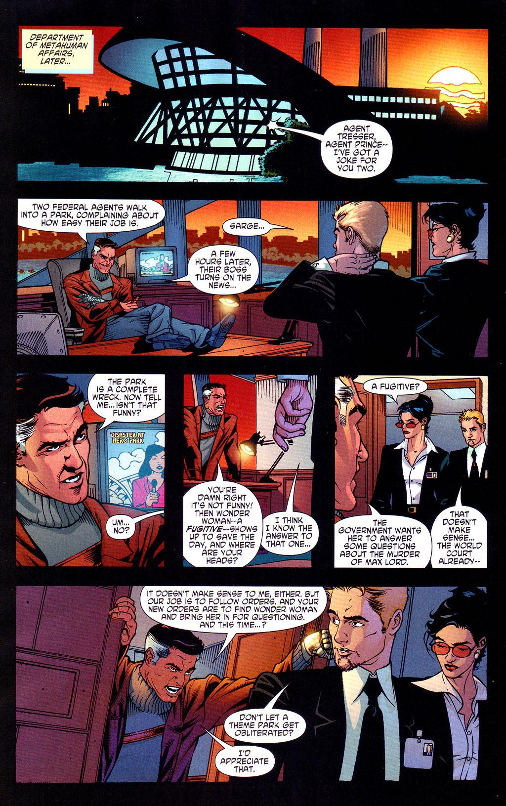 Read online Wonder Woman (2006) comic -  Issue #6 - 11