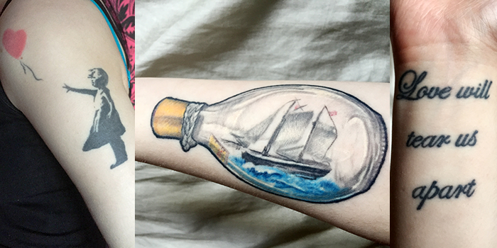 Raise the Waves tattoos