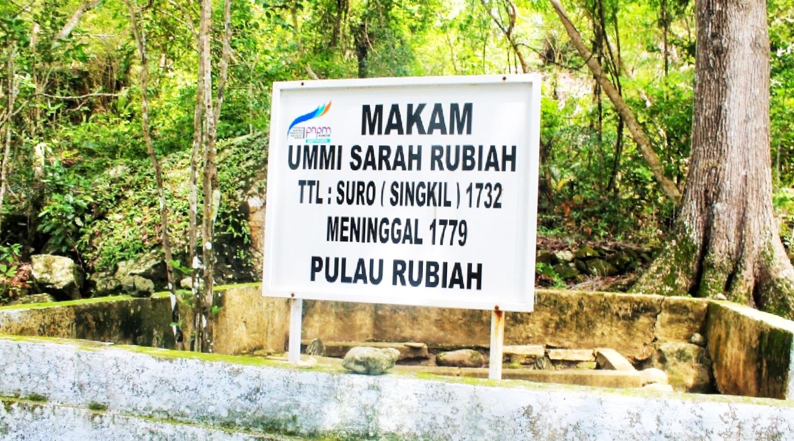 Wisata sejarah dan mitos Indonesia sabang makan kuno usia 3 abad di pulau Rubiah