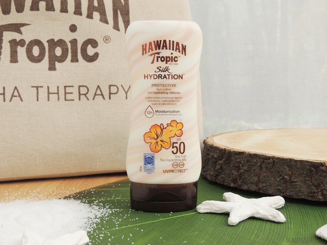 avis hawaiian tropic silk hydratation protective