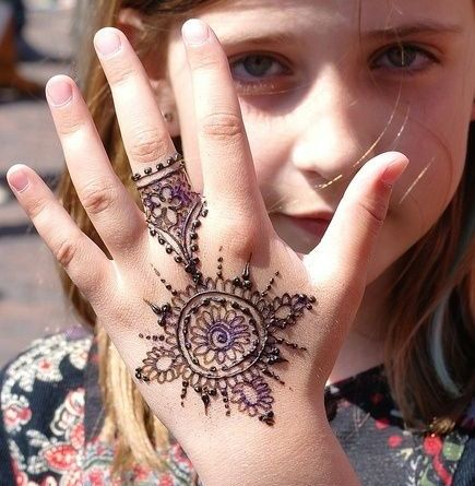 Awesome Collection of Latest Mehndi designs for Kids