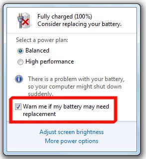 Cara Memperbaiki Baterai Laptop Ber Tanda Silang Merah