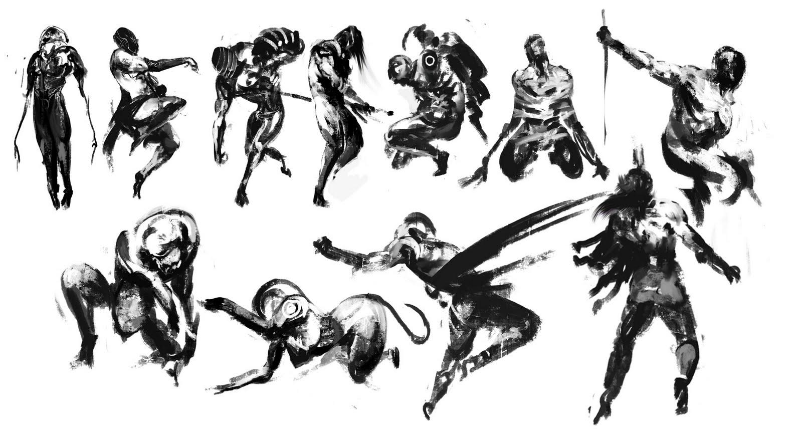 Экспрессивные рисунки