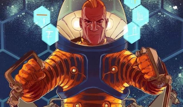 O Astronauta Maurício de Souza