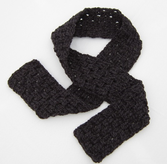 crochet, free pattern, crochet for charity, scarf, tutorial