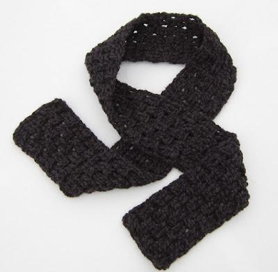 crochet, free pattern, crochet for charity, scarf, tutorial