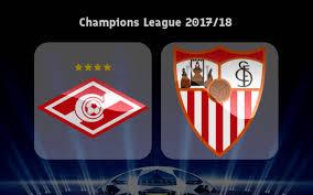 Spartak Moskva - Sevilla (5-1) Last highlight Champion League 2017/2018