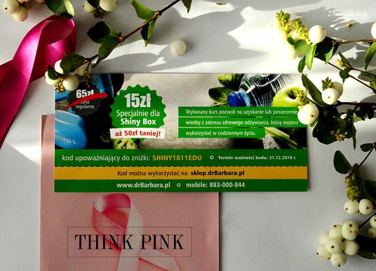 THINK PINK by ShinyBox -  Dr Barbara Voucher ze zniżką 50 zł