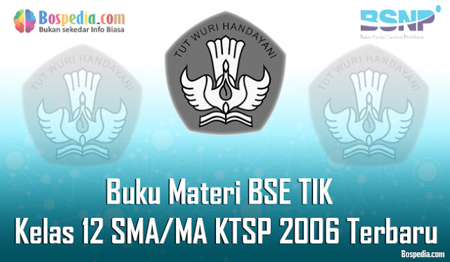 Buku Materi BSE TIK Kelas 12 SMA/MA KTSP 2006 Terbaru