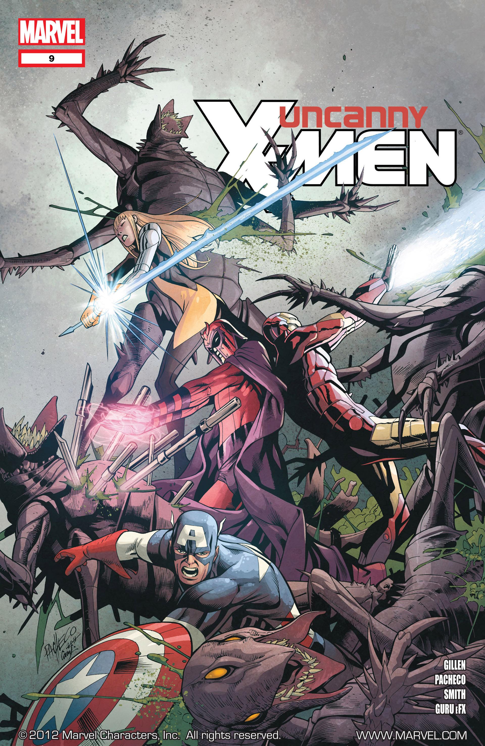 Uncanny X-Men (2012) 9 Page 1