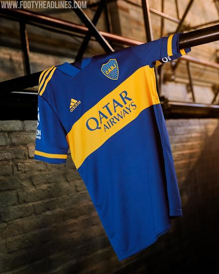 Adidas Boca Juniors 2020 Home & Away Kits Released - No More Nike ...