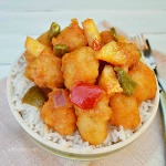 Crispy Chicken cubes in a thick sweet and sour sauce will have your family raving for more of this Orange Juice Chicken