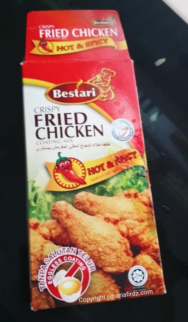 Mudahnya Buat Ayam Goreng Tepung Sedap Dengan Tepung Goreng Bestari