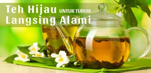 tips-melangsingkan-perut-dengan-green-tea