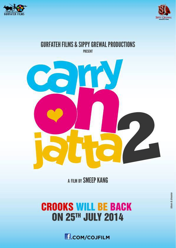 Carry On Jatta 2 - Punjabi Movie Star casts, News, Wallpapers, Songs & Videos