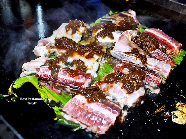 WEEKEND BBQ SEAFOOD BUFFET Menu - Chef Special Sambal BBQ Marinades