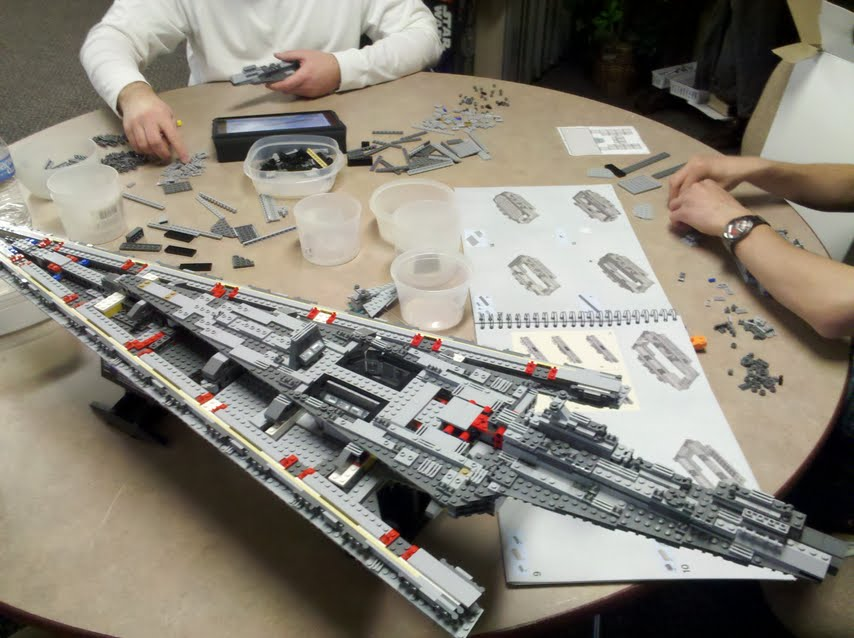 Buried in Bricks: Ribbon building event for Milwaukee LEGO ...