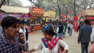 Food court in Surajkund Mela