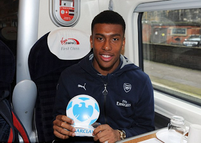 WHAO!! Alex Iwobi ranked among best 100 players in the world