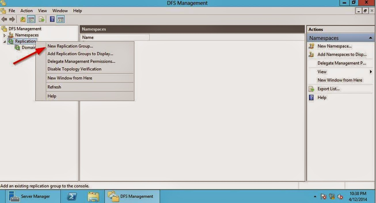 Isuru Rakshitha Senadheera: Configuring DFS Replication on
